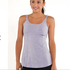 Lululemon Active Strength Tank Lilac Heathered